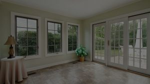 Windows and Door With Screen Porch